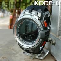 Jual Jam Tangan Pria Cowok Digitec 2012t Monster Gx 56 Black Gold Sport Ori Murah