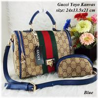Gucci Yoyo Kanvas Set Tas Wanita Cantik | Super