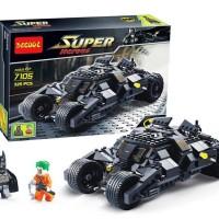 Jual Batman dark knight The Tumbler Bat Mobile Lego 76023 kw Decool 7105 Murah