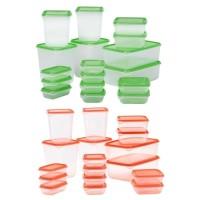 harga Ikea Pruta 17 Pcs Food Container Toples Penyimpanan Makanan Tokopedia.com