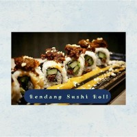 Rendang Sushi Roll Isi 8pcs