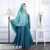 Jual 119174 SHIREEN SYARI TWOTONE TOSCA Murah