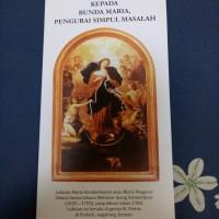Novena kepada Bunda Maria pengurai simpul masalah