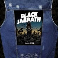 BACKPATCH BLACK SABBATH / PATCH / EMBLEM / BACK PATCH