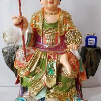 Patung Dewi Penguasa Bumi Hou Tu Niang Niang 12 Inch Fiber