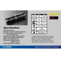 Senter JETBeam BA10 Waterproof Flashlight LED CREE XPG R5 16 T1310