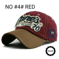 Jual Topi Baseball Caps Import Murah / Topi Pria Jangkar Casual Anchor Murah