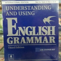 UNDERSTANDING AND USING ENGLISH GRAMMAR EDISI 3 WITH ANSWER KEY