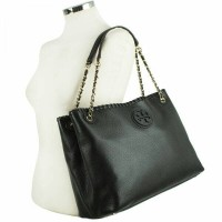 Tory Burch Marion Chain Shoulder Slouchy Tote Original