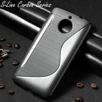 S-Line Carbon Case Motorola Moto E4 Plus