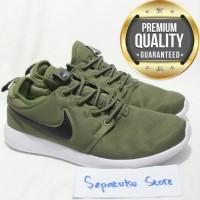 255afd569 Sepatu Nike Roshe Two Olive Green Army Green - Premium High Quality