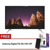 Free Antena Digital + Smart TV LED TCL Monitor PC 32S4900 bukan sharp