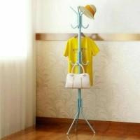 Jual multifunction standing hanger (portable modern) Murah