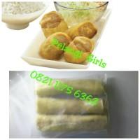 eggroll egg roll chicken isi 3