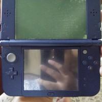 Jual nintendo 3ds XL + sky3ds tombol orange + pokemon case + game original Murah