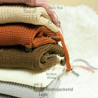 Jual [TERLARIS] Sweater Lace Up VNeck Flare Series - Sweater Rajut Wanita Murah