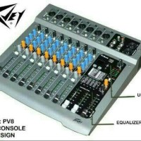 mixer audio 8 chennel PEAVEY PV8 USB ORIGINAL