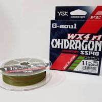 PE Braid YGK G-Soul WX4 - F1 OHDRAGON - 150m