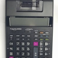 Casio Printing Calculator HR-100RC Kalkulator Kasir Printer Struk