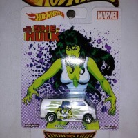 Hot Wheels Custom 77 Dodge Van Marvel She Hulk
