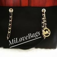 Michael Kors Sussanah Large Tote Bag Satchel Saffiano Leather