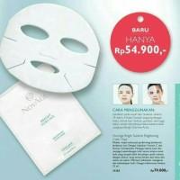 NovAge Bright Sublime Mask ( Masker Pencerah Wajah Oriflame Kosmetik)