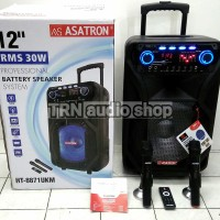 Harga portable meeting amplifier wireless speaker asatron ht 8871 ukm | Pembandingharga.com