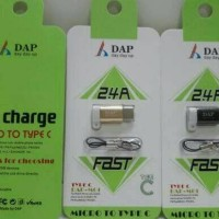 Adapter USB Type C 2.4A DAP-M01 C FAST CHARGE Micro to Type C