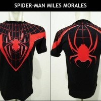 T-Shirt / Kaos Spider-Man Miles Morales | Spiderman | Spidermen
