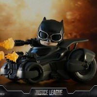 HOT TOYS COSBABY BATMAN JUSTICE LEAGUE BATMOBILE BAT MOBILE HT COSB399
