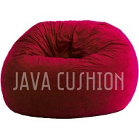 Cover Bean bag Suede Large / Beanbag / Round chair