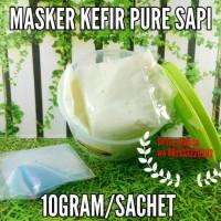 Jual MASKER KEFIR SUSU SAPI SACHET Murah