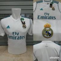 Jersey Baju Bola Real Madrid Home New 17/18 Grade ORI