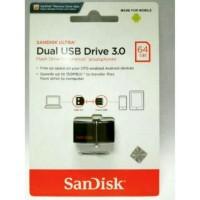 Discount SANDISK ULTRA DUAL USB DRIVE OTG 64GB USB 3 0 130MB S