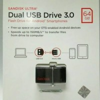Promo SANDISK FLASHDISK OTG 64GB USB 3 0 OTG FLASH DISK 64GB USB 3 0