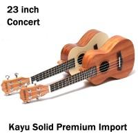 Jual Ukulele concert 23 Premium quality free softcase Tebel Murah