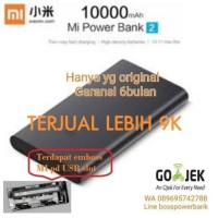PROMO Powerbank Xiaomi 10000mAh Small Original