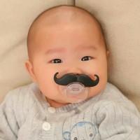 Jual empeng dan dot kumis bayi  Murah