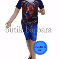LIMITED EDITION baju renang anak diving spiderman dongker SD HOT PRODU