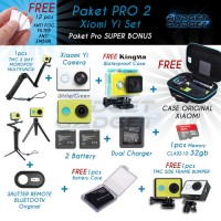 Harga paket hemat lengkap xiaomi yi pro 2 super bonus by toko hari | Pembandingharga.com