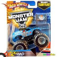 Hotwheels MONSTER JAM Team Flag - Mad Scientist Hot Wheels Ori Mattel