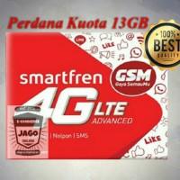 Perdana Kuota Smartfren 13GB - bisa untuk Modem/HP 4G