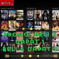 Netflix Premium Akun 1 bulan, Ultra HD, 4 screen bersamaan