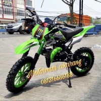 MOTOR MINI TRAIL KXD 50CC MESIN 2TAK