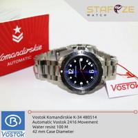 Jam Tangan Vostok Komandirskie K34 480514