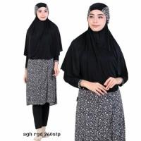 Jual Baju Renang Muslimah Syari 260stp panjang Putih Hitam L XL Murah