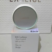 Jual [CASE+ISI] NEW Ver Laneige BB CUSHION PORE CONTROL #21 BEIGE Murah
