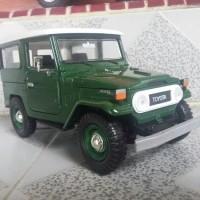 Miniatur Mobil JEEP TOYOTA HARDTOP FJ40 Diecast Klasik Original Murah