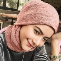 Scarf Hijab Instant Rajut #1 | Jilbab Instan | Hoodie Pashmina Instan