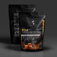 Jual Muscle First M1 GOLD PRO GAINER 2 LBS bulking MASSA OTOT carnivor whey Murah